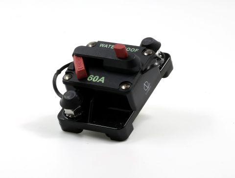 Lumision Waterproof Automotive Circuit Breaker Manual Reset 12-48VDC 60A