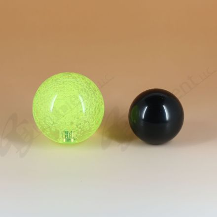 Sanwa JLF-TP-8YT with 45mm Crystal Green Ball Top
