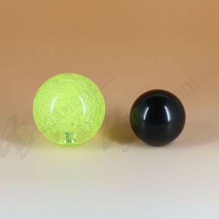 Sanwa JLF-TP-8YT with 45mm Crystal Green Ball Top