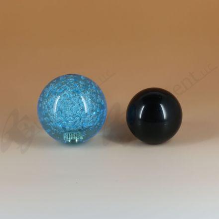 Sanwa JLF-TP-8YT with 45mm Crystal Blue Ball Top