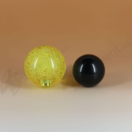 Sanwa JLF-TP-8YT with 45mm Crystal Yellow Ball Top