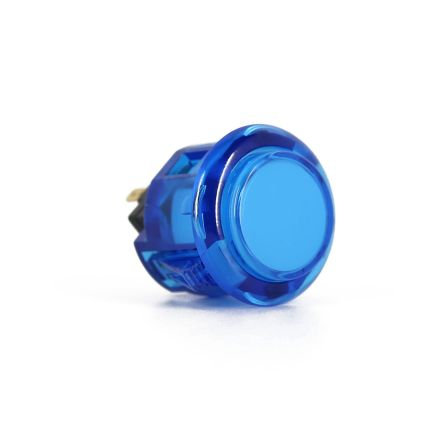 Sanwa OBSC-24 Translucent Buttons - Blue