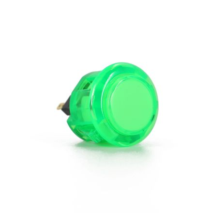 Sanwa OBSC-24 Translucent Buttons - Green