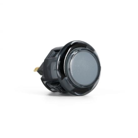 Sanwa OBSC-24 Translucent Buttons - Smoke