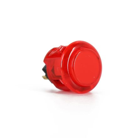 Sanwa OBSC-24 Translucent Buttons - Red