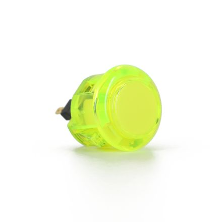 Sanwa OBSC-24 Translucent Buttons - Yellow