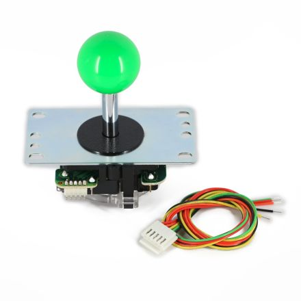 Sanwa JLF-TP-8YT Joystick with Green Ball Top