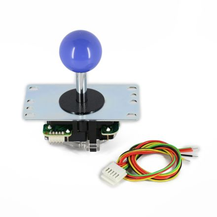 Sanwa JLF-TP-8YT Joystick with Dark Blue Ball Top