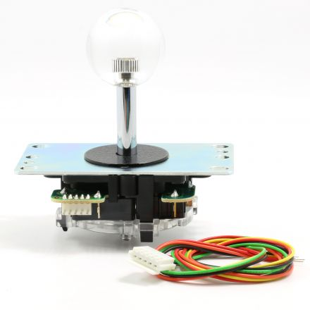 Sanwa Clear Crystal Ball Top Joystick