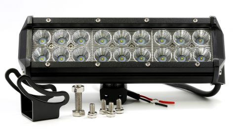 "Lumision CREE 54W 4"" Flood High Intensity LED Light Bar Truck RV SUV Off Road"