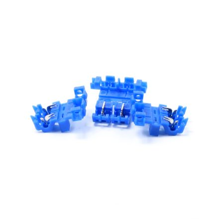 Blue Splice Inline Self Stripping ATO ATC Fuse Holder Assembly 3 Pack