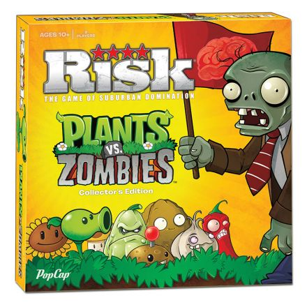 RISK: Plants vs. Zombies Collector's Edition