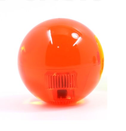 Sanwa LB-35 Joystic Knob Ball - Clear / Crystal RED